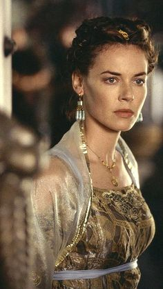 Connie Nielsen as 46 year old Claire.  You can see her in Gladiator, The Great Raid, and more.