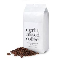 This coffee is aged in Merlot wine barrels for a subtle infusion of wine notes.