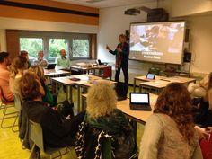 Workshop CodeKinderen voor Docenten op het @ixperium. 8 oktober. 2014