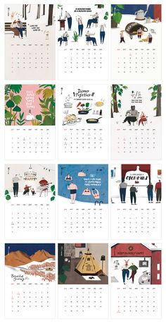 2016 calendar consisting of a variety of … – Breakfast Recipes Design Poster, Book Design, Layout Design, Print Design, Design Design, Graphic Design Magazine, Magazine Design, Branding, Kalender Design