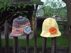 klobúčiky počas dovolenky ukuchtené ...