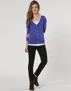 Blusa Calvin Klein Cardigan Básico