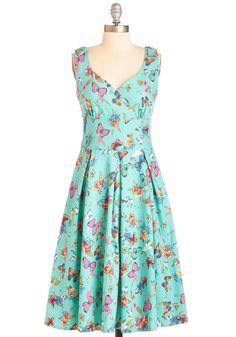 Wing the Blues Dress | Mod Retro Vintage Dresses | ModCloth.com