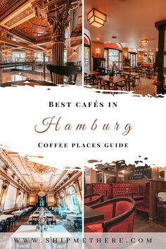 Check out these best cafes in Hamburg - only the top selected coffee shops that will fuel your caffeine & aesthetic sense at the same time. | Hamburg coffee guide | Hamburg coffee shops | Hamburg coffee travel | Hamburg travel guide | Hamburg cafes | Hamburg tips | Hamburg itinerary | What to do in Hamburg | Where to go in Hamburg | Germany travel | Germany Europe, Hamburg Germany, Germany Travel, Road Trip Europe, Europe Travel Tips, Travel Guide, Packing List For Vacation, Vacation Trips, Best Cruise Ships