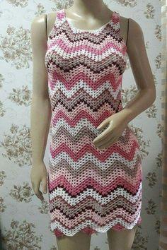 63 Best Ideas For Crochet Dress Adult Granny Squares Crochet Skirts, Crochet Blouse, Crochet Clothes, Knit Crochet, Crochet Baby, The Dress, Dress Skirt, Diy Crafts Crochet, Vest Pattern
