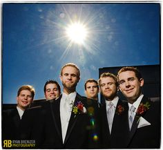 Dudes with Flair, with Flare by Ryan Brenizer, via Flickr