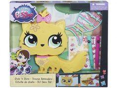 Littlelest Pet Shop Decore Pet Novo Gato - com Acessórios - Hasbro com as melhores condições você encontra no Magazine Raimundogarcia. Confira!