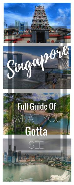 Singapore Travel Guide: What to do on a one day itinerary. All the places you must see in Singapore with tips on where to eat and where to stay along with some budget information. This is a complete article for your trip: https://togethertowherever.com/must-see-places-singapore/