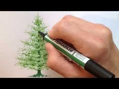 Drawing a Fir Tree with Promarkers: Tutorial/Video | Letraset Blog - Creative Opportunities