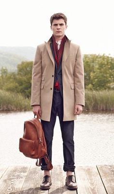How to Wear a Camel Overcoat (88 looks)   Lookastic for Men