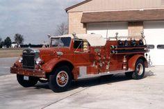 Landisville Volunteer Fire Company 1948 Autocar/Hale Pumper.