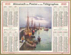 Almanach des Postes 1935
