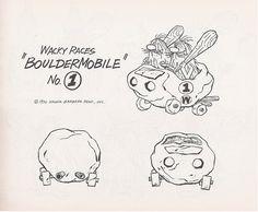 Wacky Races - The Boulder Mobile #1
