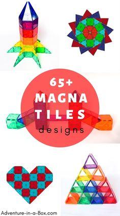 Magna Tiles Designs in 2020   Magnetic tiles, Magna tiles, Inspiration for  kids