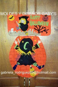 JGO DE BAÑO DE BRUJA ESTAMPADA Moldes Halloween, Manualidades Halloween, Adornos Halloween, Halloween Quilts, Fall Halloween, Halloween Crafts, Holiday Crafts, Halloween Decorations, Halloween Juegos