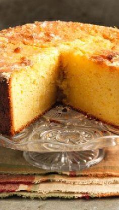Low FODMAP and Gluten Free Recipe - Citrus cake
