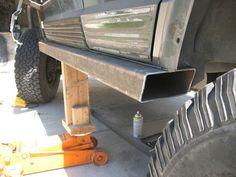 Rocker Panel fix Jeep Zj, Jeep Xj Mods, Truck Mods, Car Mods, Jeep Truck, Patrol Y61, Montero Sport, Rock Sliders, Jeep Camping