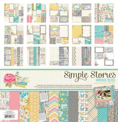 Simple Stories | Vintage Bliss | 12x12 Collection Kit