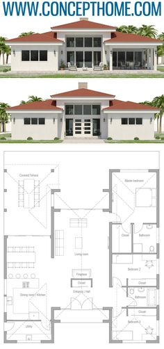 Small House Plan, Small Home Plans, House Plans 2019 - Houses interior designs Sims House Plans, New House Plans, Modern House Plans, Small House Plans, House Floor Plans, Small House Layout, House Layouts, Contemporary House Plans, Country House Plans