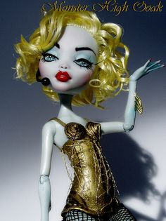 Madonna Blond Ambition Monster High OOAK by Monsterhighooak
