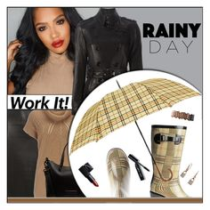 """""""Rainy Day Style Fall 2015"""" by melindairenes ❤ liked on Polyvore featuring moda, Dorothy Perkins, Wallis, Marc by Marc Jacobs, Burberry, NARS Cosmetics, Urban Decay, Bobbi Brown Cosmetics, Michael Kors e rainydaystyle"""