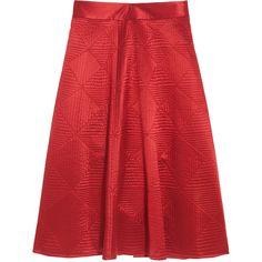 TEMPERLEY LONDON Nyla Full Skirt found on Polyvore