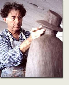 JEAN MICHEL FOLON (1934/2005) - Sculpture
