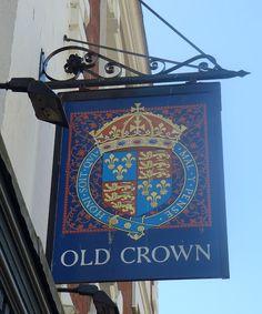 Pub Sign Art a la cARTe: The Old Crown - Gloucester, Gloucestershire