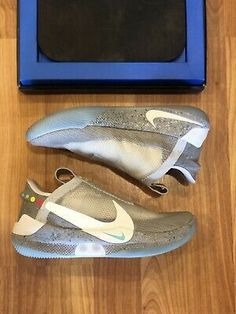 Nike Mag - Latest Nike Mag for Sales #nike #nikemag Nike Mag, Air Jordan 12 Retro, Back To The Future, Birkenstock, Air Jordans, Ebay, Things To Sell, Fashion, Moda