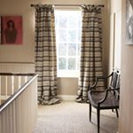 A brilliantly bold and masculine stripe, creating a statement in the simplest of spaces. Curtains: Anoushka Charcoal . . #traditionalstyle #homefurnishings #interiors #interiordesign #designer #design #alresford #homedecor #instagood #interiorinspiration #homeinspo #fabricdesign #makersgonnamake #makersmovement #curtains #homedetails #momentsofmine #chairstagram #traditionalstyle #homefurnishings