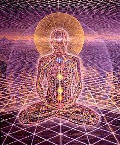 Alex Gray.  beautifully illustrates our energy body...