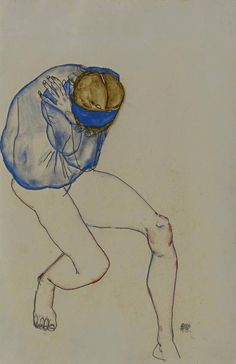 Egon Schiele, Unknown 1913 on ArtStack #egon-schiele #art