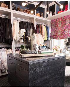 Cara Lorens closet