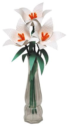 Beautiful Easter Lily Craft!