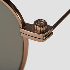 The G-Star Eyewear metal frames feature patented oversized screw heads.