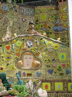 Garden of Oz, kids only mosaic garden in Hollywood Hills.  via Kristen King on flickr