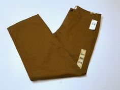 Dockers D2 Off the Clock Khaki Brown Straight Fit Pants Size 32x30 NEW NWT #Dockers #KhakisChinos