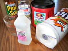 Recipes And Instructions For Homemade Cleaning Products