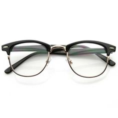 • Description • Measurements • Classic half frame that features clear lenses for a sharp sophisticated look. An iconic frame that will have you looking fashionable in any situation. Frame is made with tortoise shell acetate brow and arms, metal wire lens lining and metal nose bridge. Also made with metal hinges, English style nose pieces and clear UV protected lenses. • Lens Width: 49mm Nose Bridge: 18mm Lens Height: 42mm Total Width: 142mm