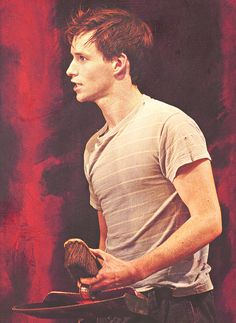 Eddie Redmayne in the Tony Award-winning play Red (2010)