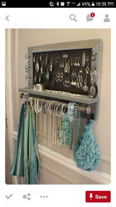 Jewelry Station In My Closet