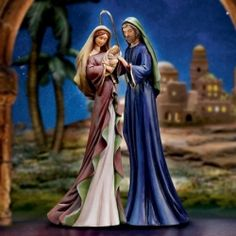 Blessed Nativity Figure: Thomas Kinkade