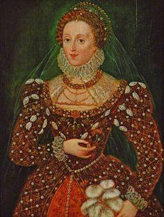 Elizabethan Fashion, Elizabethan Era, Renaissance Fashion, 16th Century Fashion, Tudor Dynasty, Renaissance Portraits, Estilo Real, Queen Of England, Tudor History