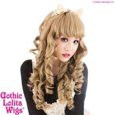 Gothic Lolita Wigs® Spiraluxe™ Collection - HoneyBee – Dolluxe®