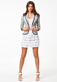 New Hot European Style Slim Lapel Collar Suit Cotton Blended Long Sleeve Single BreastedBlazer