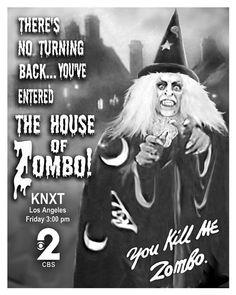 Zombo! I loooved Zombo!  It's everyone's favorite Horror TV Host