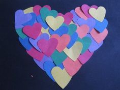 Heart of Hearts Collage - Re-pinned by @PediaStaff – Please Visit http://ht.ly/63sNt for all our pediatric therapy pins