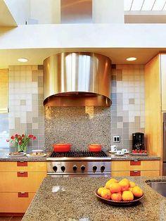 interesting kitchen backsplash