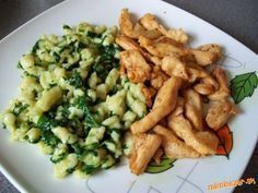 Nedavno som to jedla v Prahe a tak mi to… Slovak Recipes, Czech Recipes, Easy Cooking, Cooking Recipes, Healthy Recipes, Good Food, Yummy Food, Food 52, Chicken Recipes