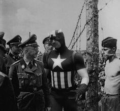 Guerre Mondiali, l'intruso è un Supereroe